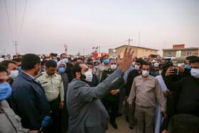 گزارش تصویری افتتاح پروژههای فاز دوم طرح آبرسانی غدیر