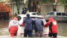 امداد رسانی به ۱۲۱۲ خانوار متأثر از بارشهای اخیر در خوزستان