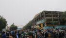 گزارش تصویری تشییع پیکر پاک دو تن از شهدای گمنام دفاع مقدس در اهواز