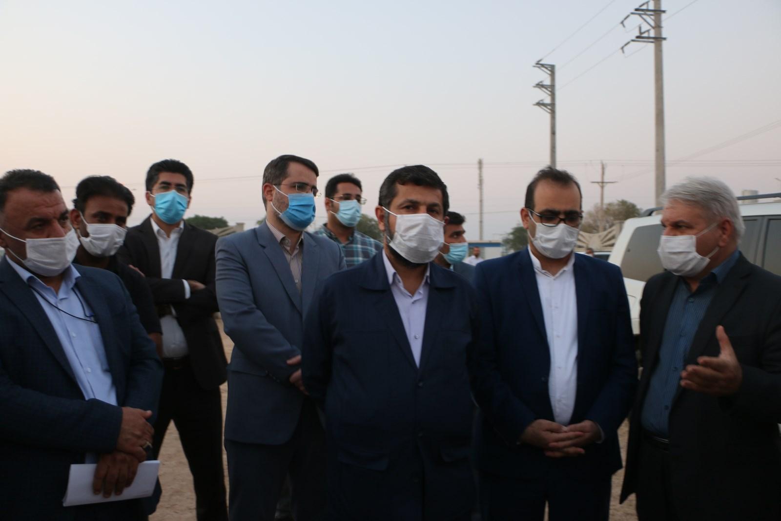 بازدید استاندار خوزستان از پروژه شهرک خودرویی کاریانا + گزارش تصویری