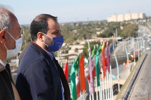 بازدید شهردار اهواز از پروژه های عمرانی تقاطع شهید کجباف و بلوار ۴۴ متری کیانشهر